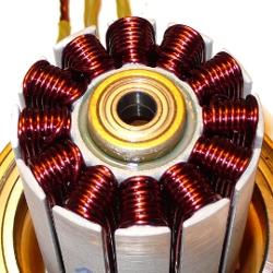 отремонтированный мотор